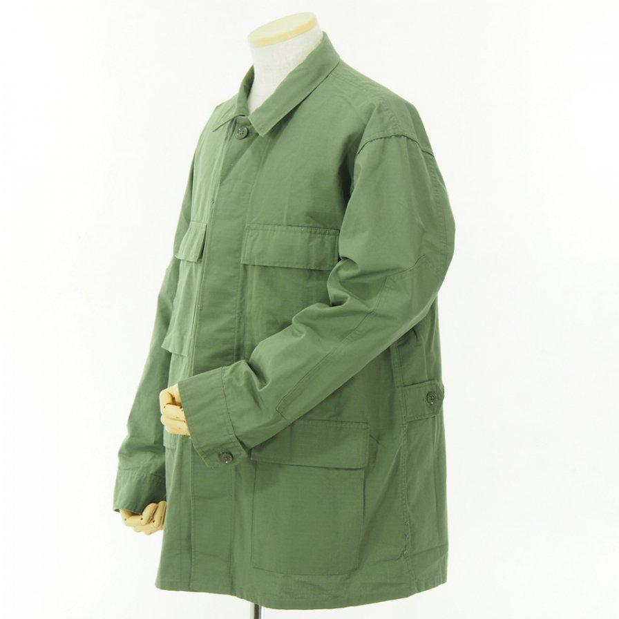 Engineered Garments - BDU Jacket - Cotton Ripstop - Olive