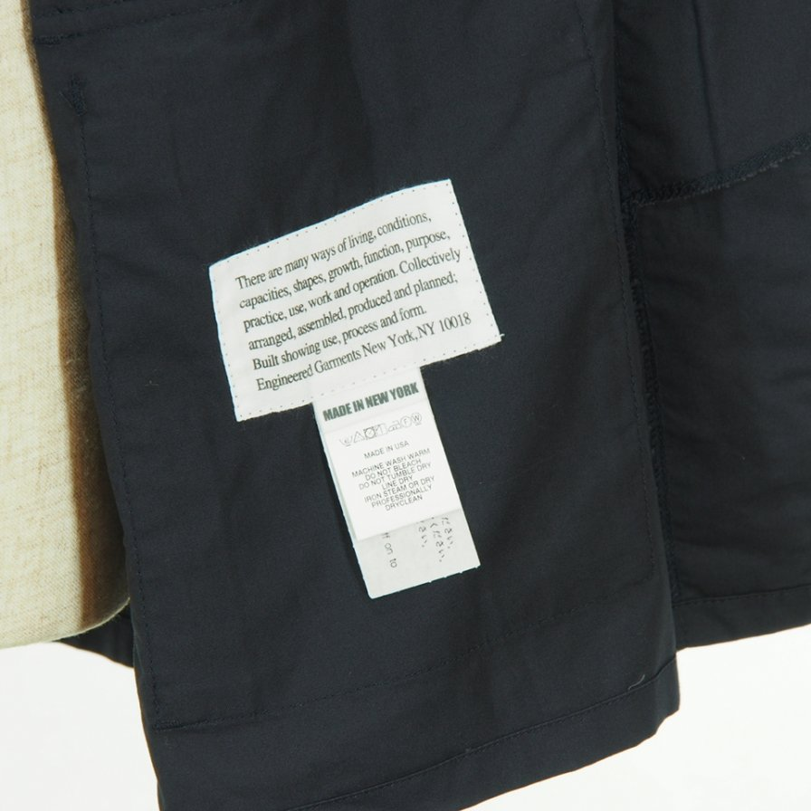 Engineered Garments - BDU Jacket - High Count Twill - Navy