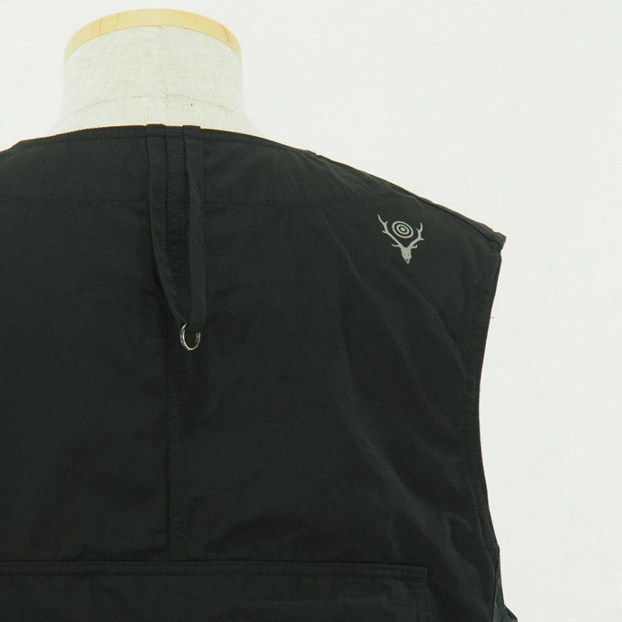 South2 West8 - Tenkara Vest - Poly Gabardine - Black
