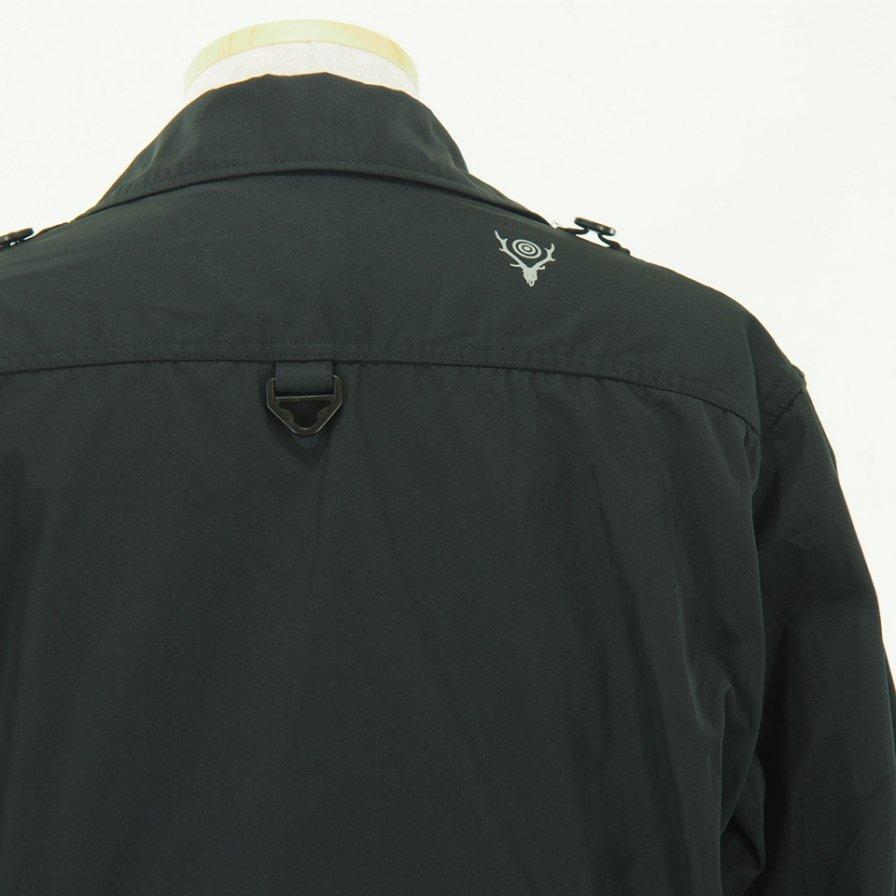 South2 West8 - Tenkara Shirt - Poly Gabardine - Black