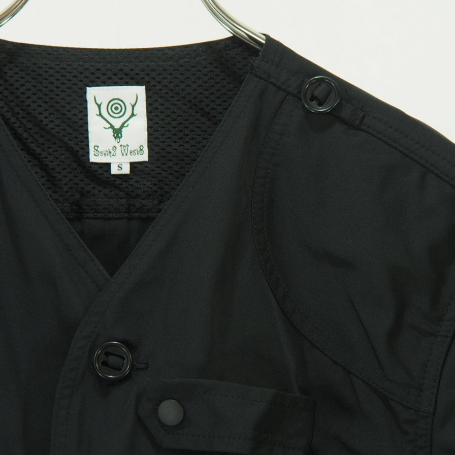 South2 West8 - Tenkara Jacket - Poly Gabardine - Black