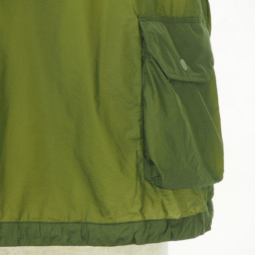 Engineered Garments - Field Vest - Nylon Micro Ripstop - Olive