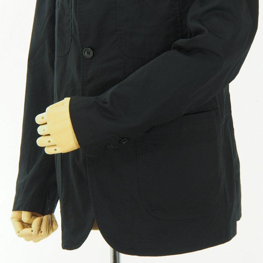 Engineered Garments - NB Jacket -  High Count Twill - Black
