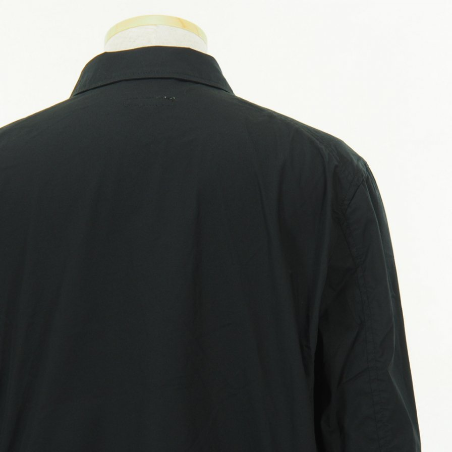 Engineered Garments - NB Jacket -  High Count Twill - Black