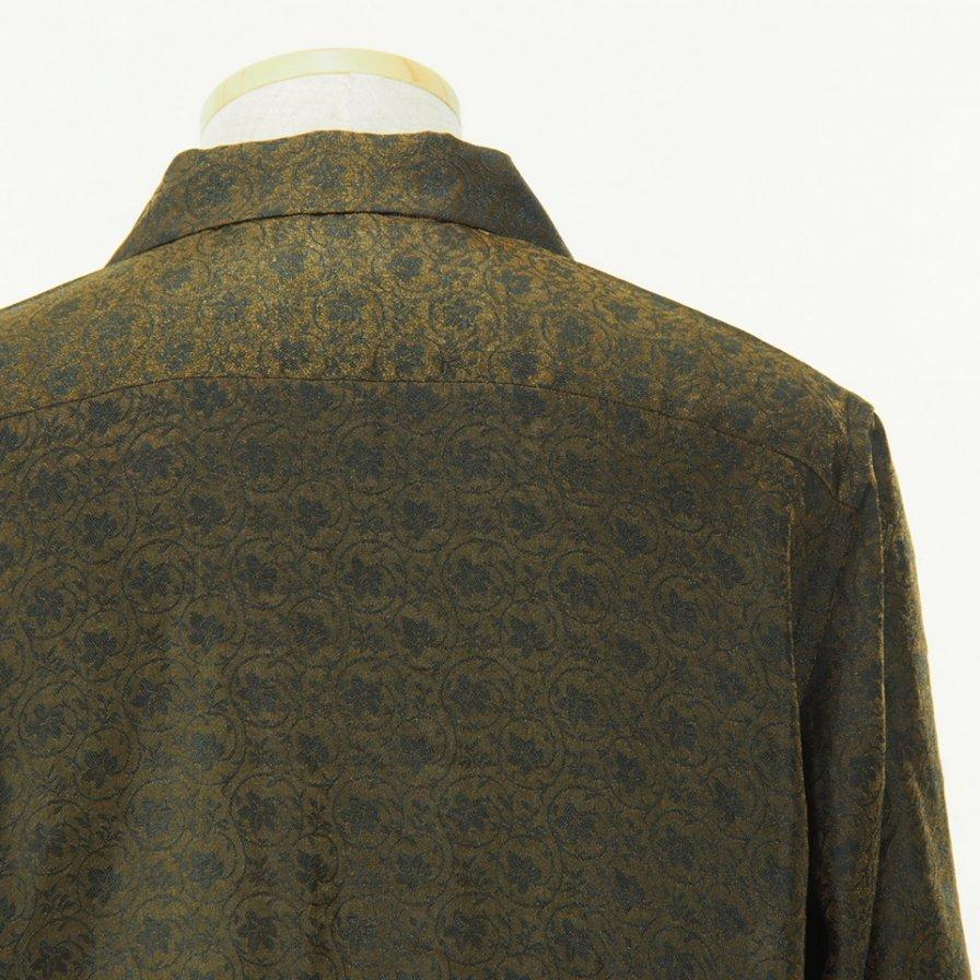 Needles - Cut Off Bottom Classic Shirt - R/N Jacuquard - Arabesque