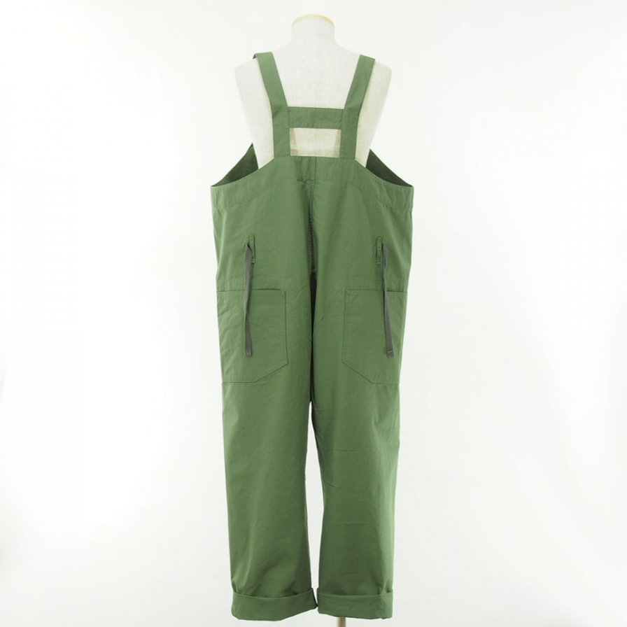 Engineered Garments - Overalls - Cotton Ripstop - Olive