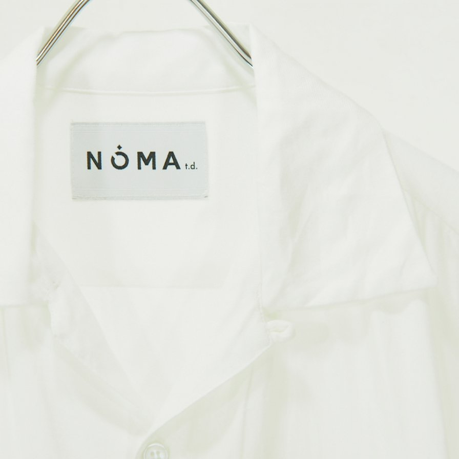 NOMA t.d. - Dream Emb. Shirt - White