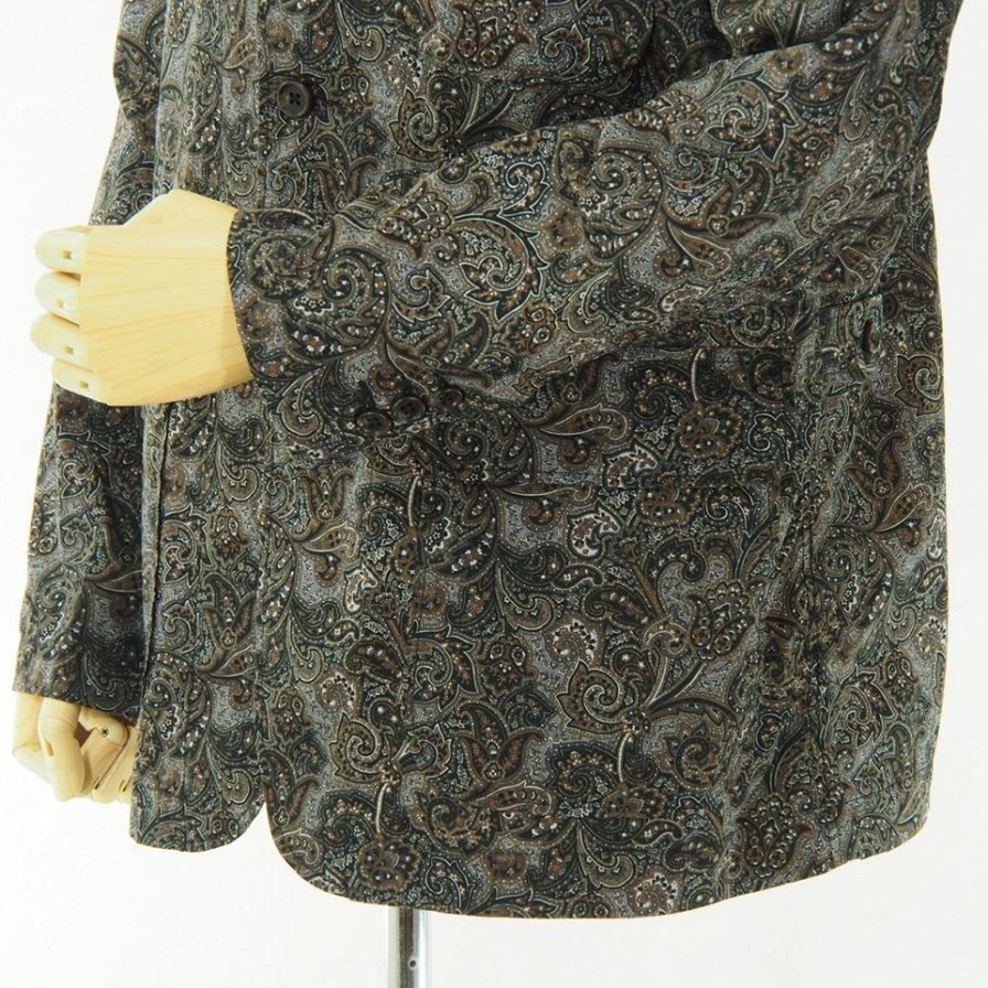Engineered Garments - Loiter Jacket - Paisley Print - Black / Brown