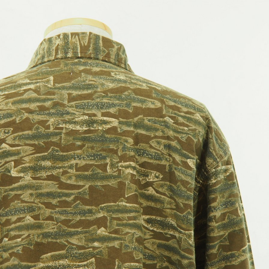 South2 West8 サウスツーウエストエイト - Hunting Shirt - Printed Flannel - Camouflage - Trout