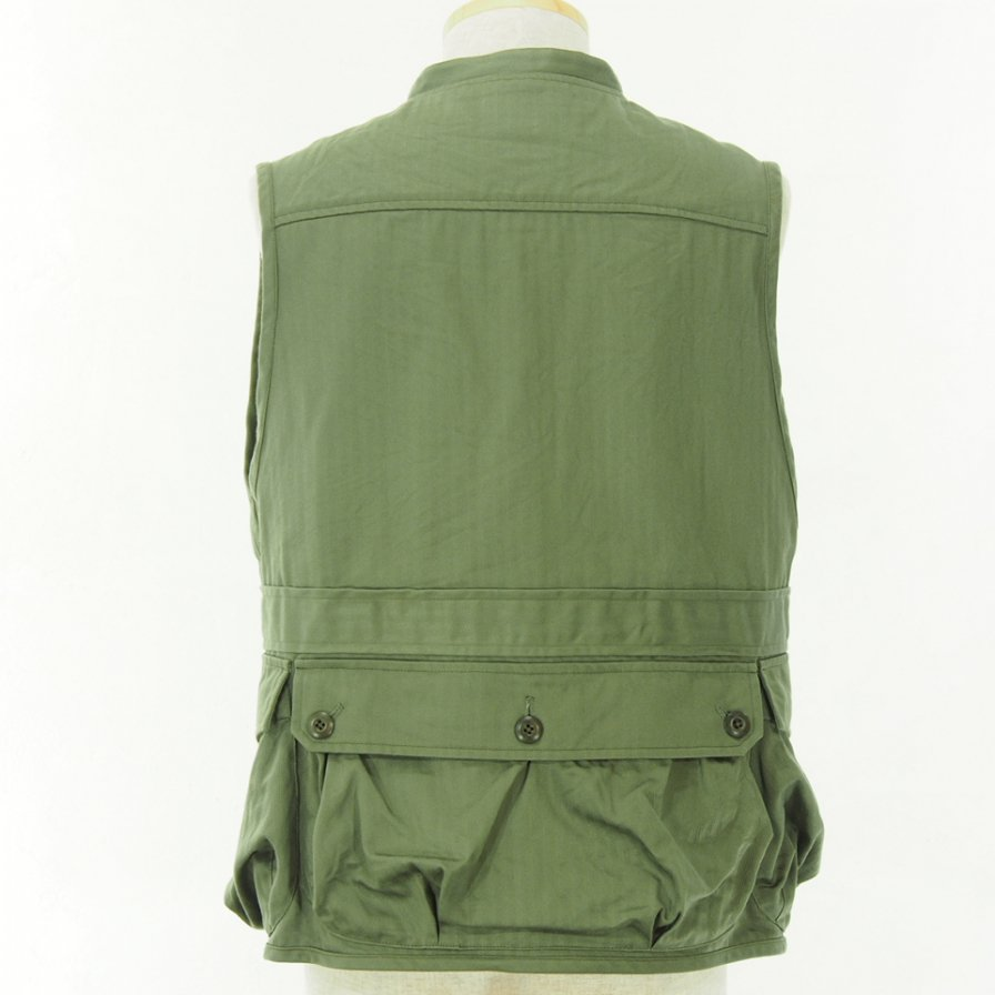 ts(s) - Belted Field Vest - Olive