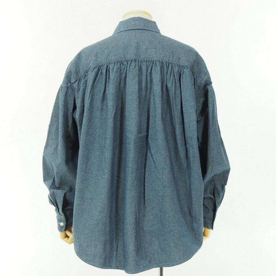 AiE - Painter Shirt - 4.5oz - Cotton - Chambray - Indogo
