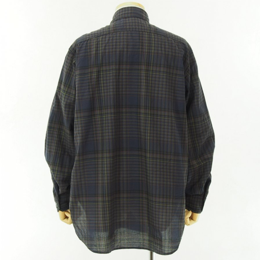 Engineered Garments - Work Shirt - Madras Check - Dk.Multi Color
