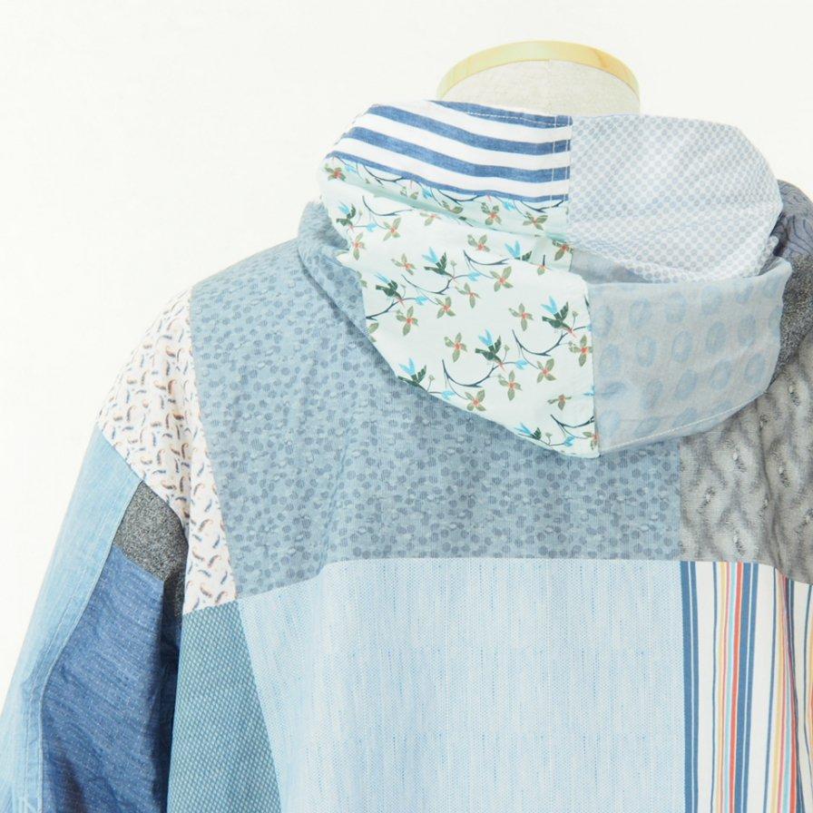 Engineered Garments - Cagoule Shirt -  Random Square Patchwork Print - Multi