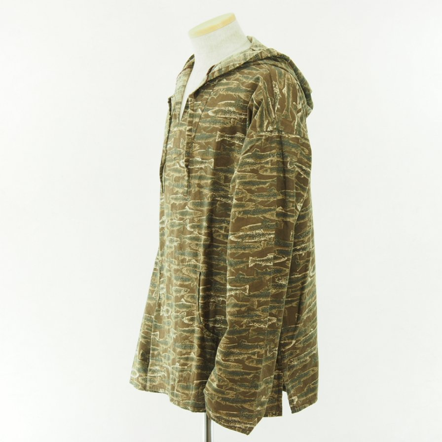 South2 West8 - Mexican Parka - Printed Flannel - Camouflage - Trout