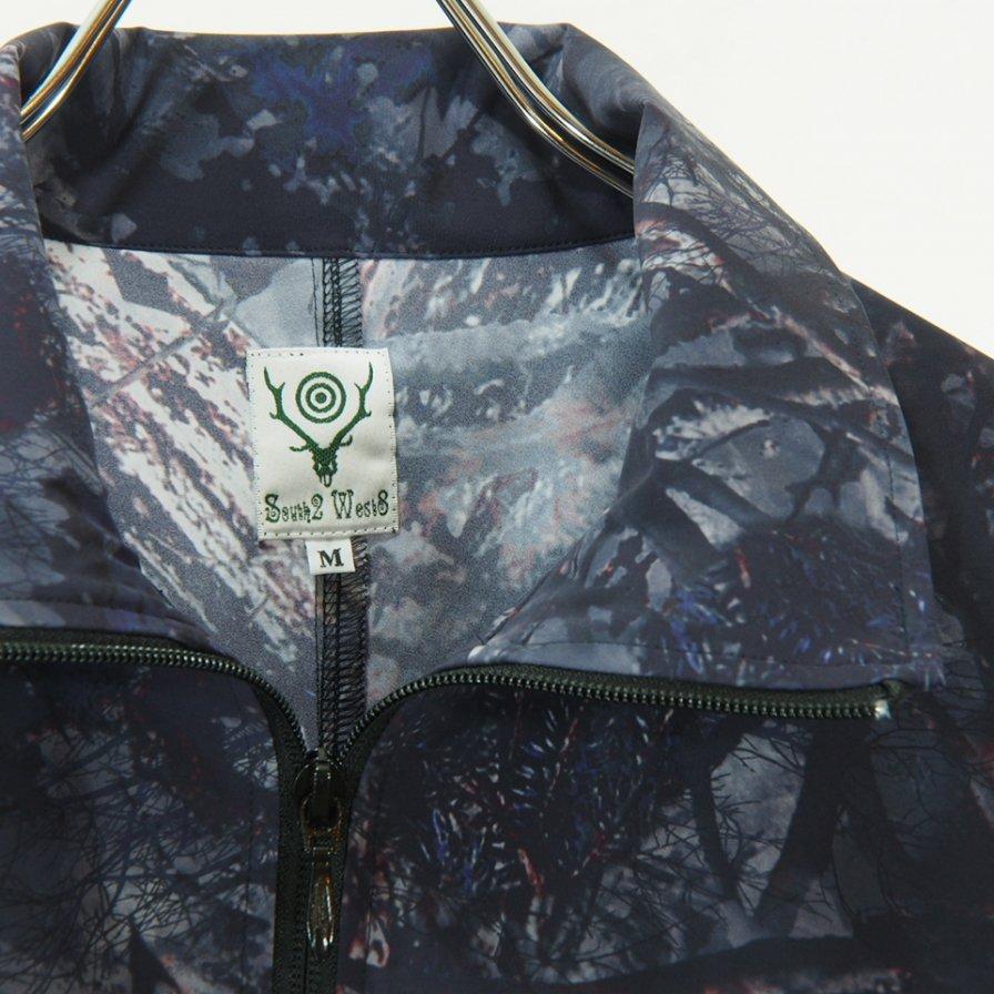 South2 West8 - Trainer Jacket - N/Pu Taffeta / S2W8 Camo - Grey