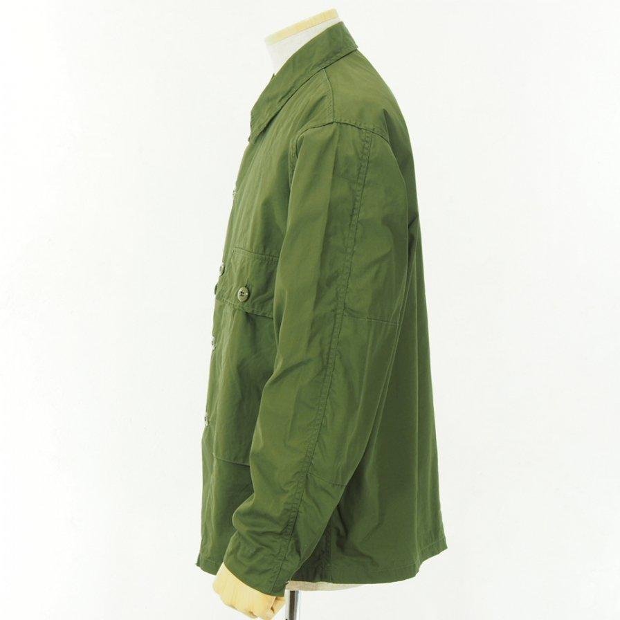 CORONA - Navy Utility Jac Shirt - AMT High Density Gabardine - OD