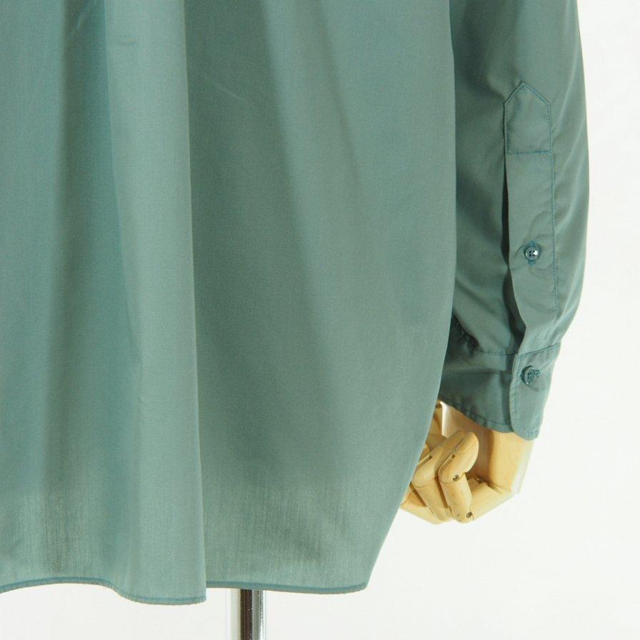 CORONA - White Collar Work Shirt - Green Shade