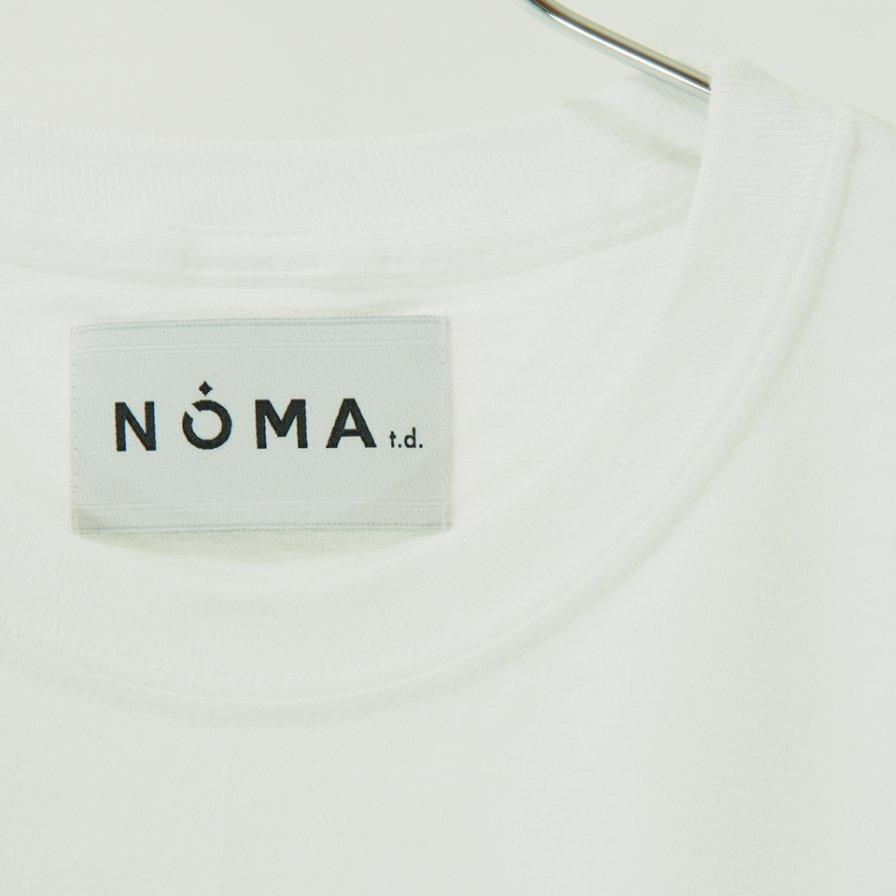 NOMA t.d. - Stripe Sleeve L/S Tee - White / Grey N Stripe