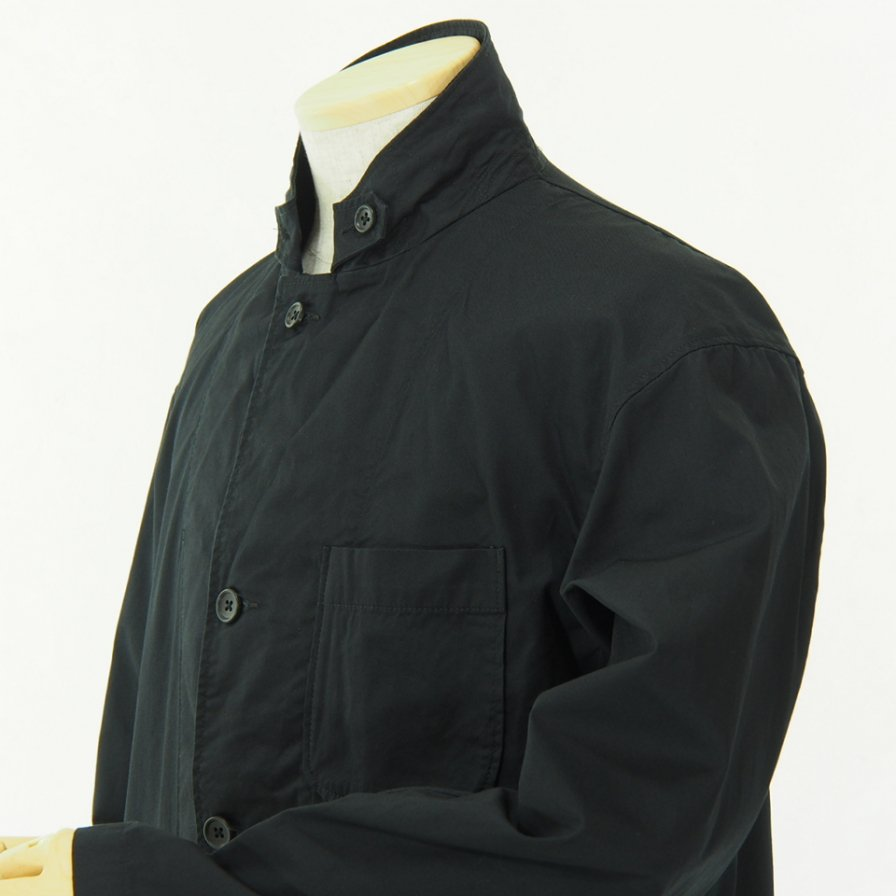 Engineered Garments - Loiter Jacket - High Count Twill - Black
