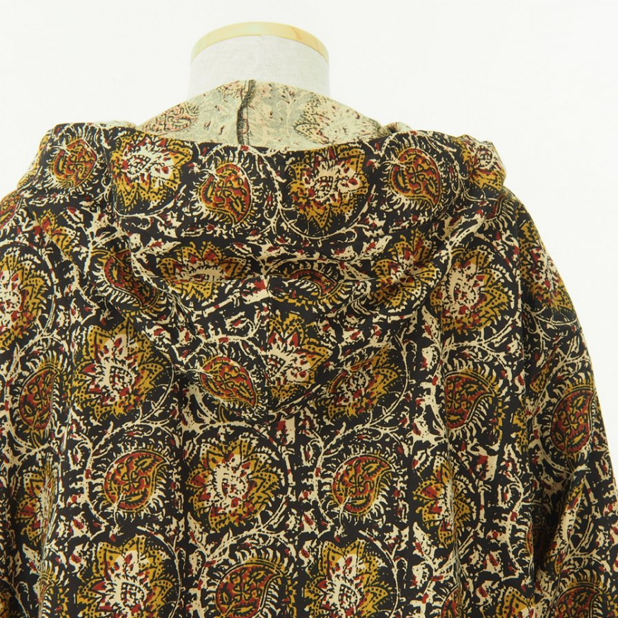 South2 West8 - Mexican Parka - Printed Flannel - Paisley - Black