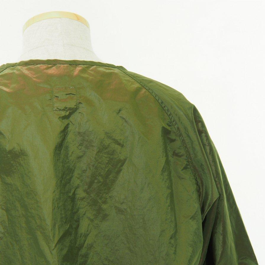 ts(s) - Hem String Pullover Jacket - Olive