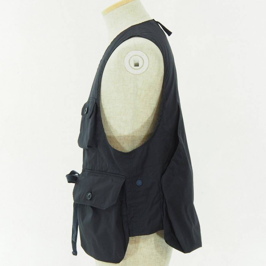 Engineered Garments - Game Vest - High Count Twill - Dk.Navy