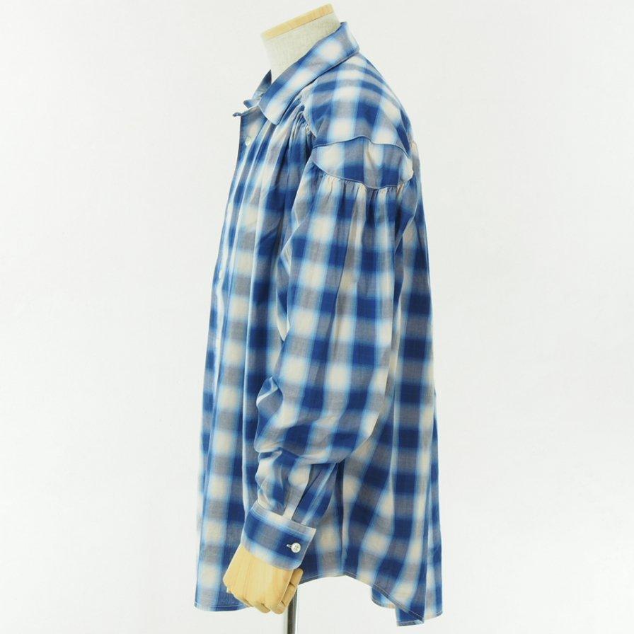 AiE - Painter Shirt - Shadow Plaid - Navy/White