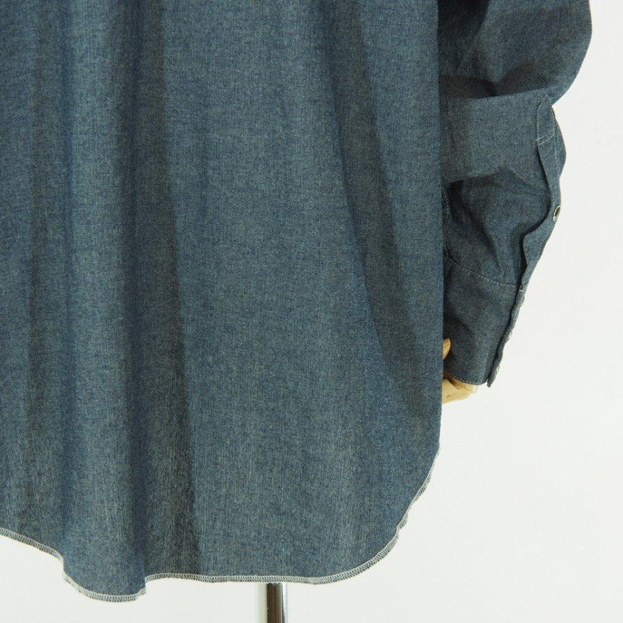 AiE - SW Shirt - 4.5oz Cotton Chambray - Indigo