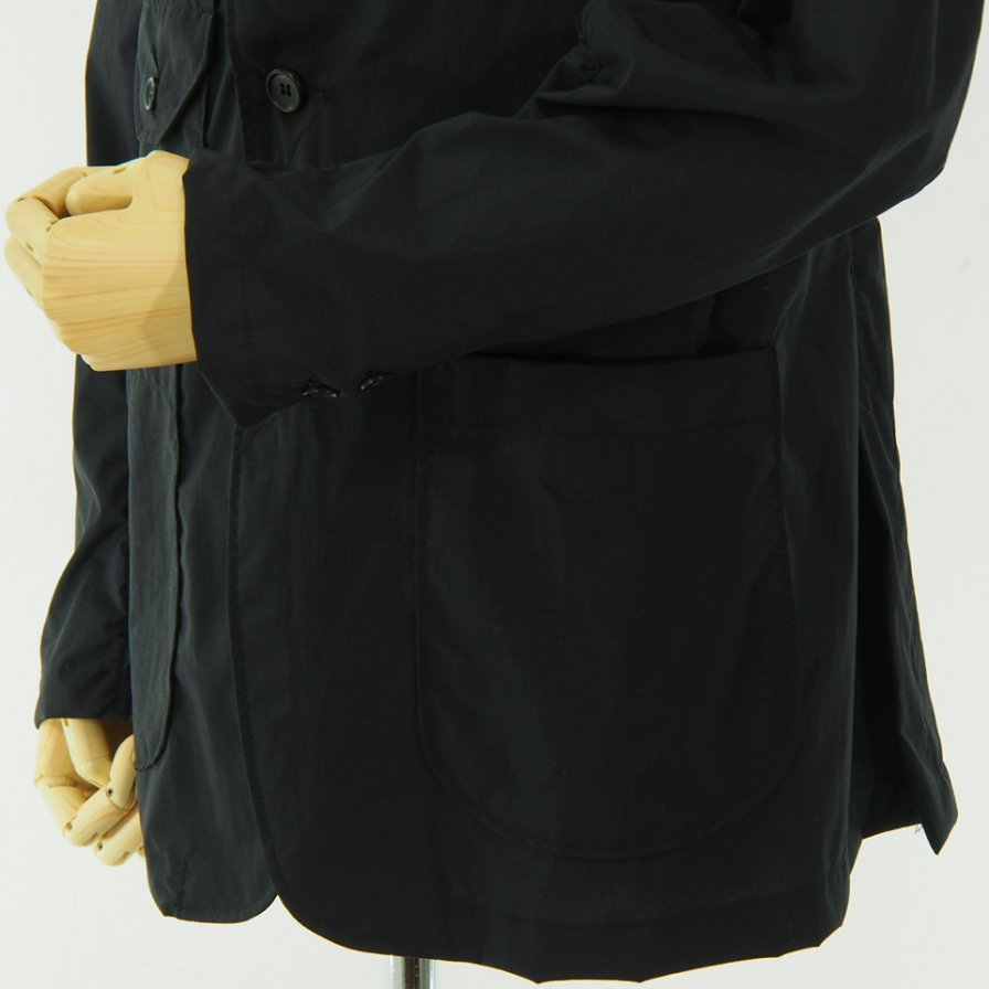 conspires - Mil Jacket - Acrylic Coated Nylon Taffeta - Black