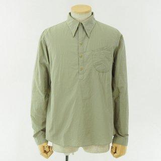 gorouta - Typewriter Pullover Shirt - Sand Grey