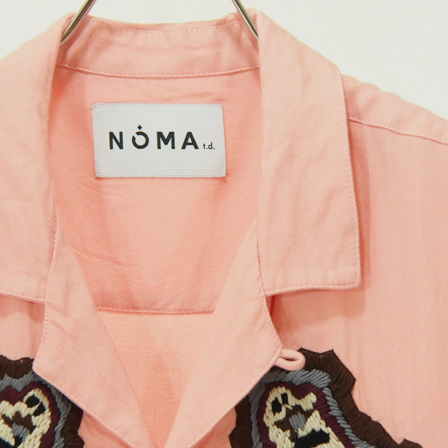 NOMA t.d. - Paisley Emb Shirt - Pink