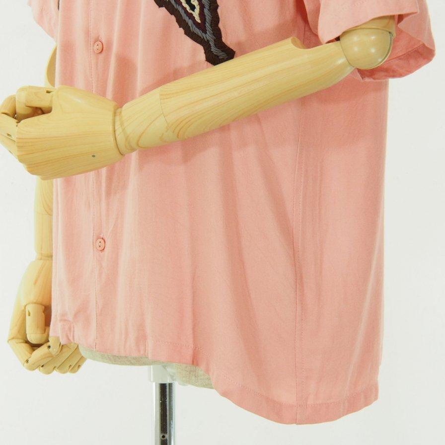 NOMA t.d. ノーマティーディー - Paisley Emb Shirt - Pink