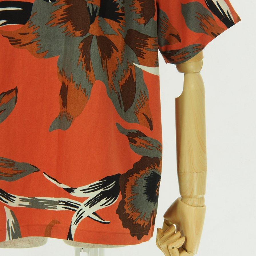 NOMA t.d. - Summer Shirt - Floral of Memories - Orange