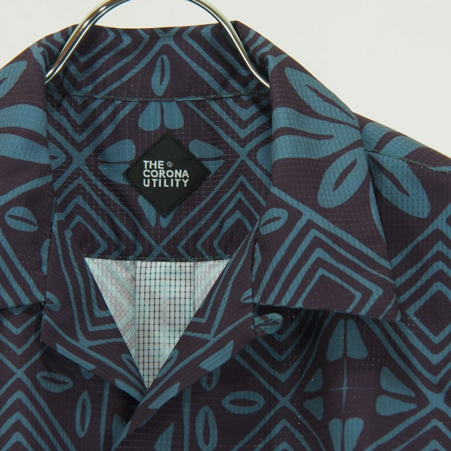 CORONA - French Caffee Shirt - Dot Air Resort Pattern 20