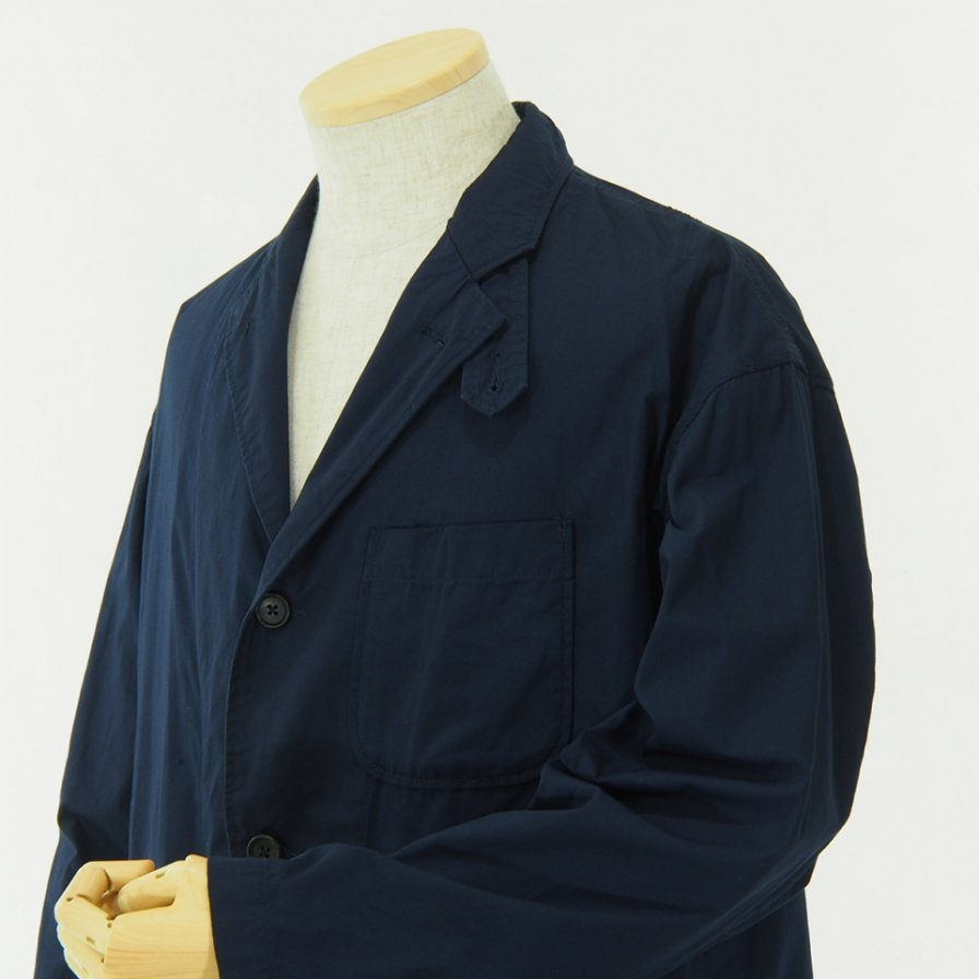 RANDT - Studio Jacket - Pima Cotton Poplin - Navy