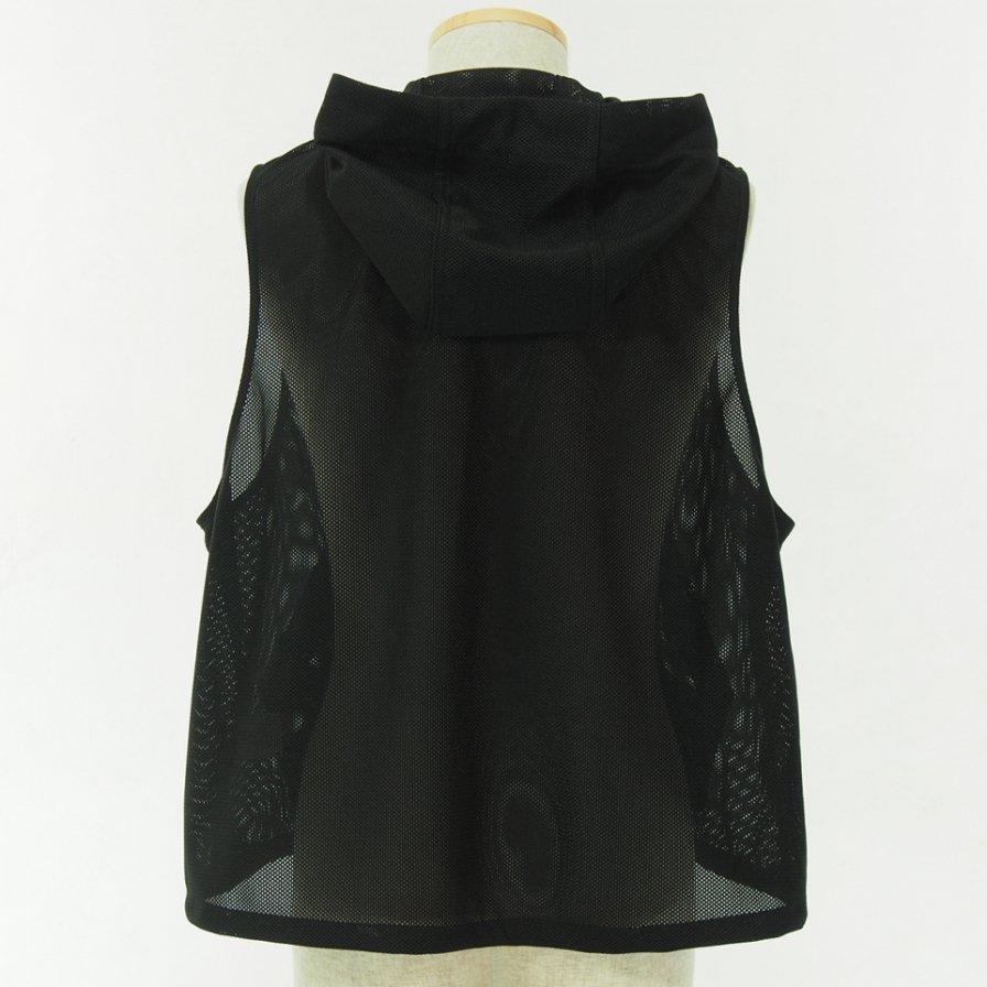 RANDT アールアンドティ - Studio Vest - Koolknit Mesh - Black