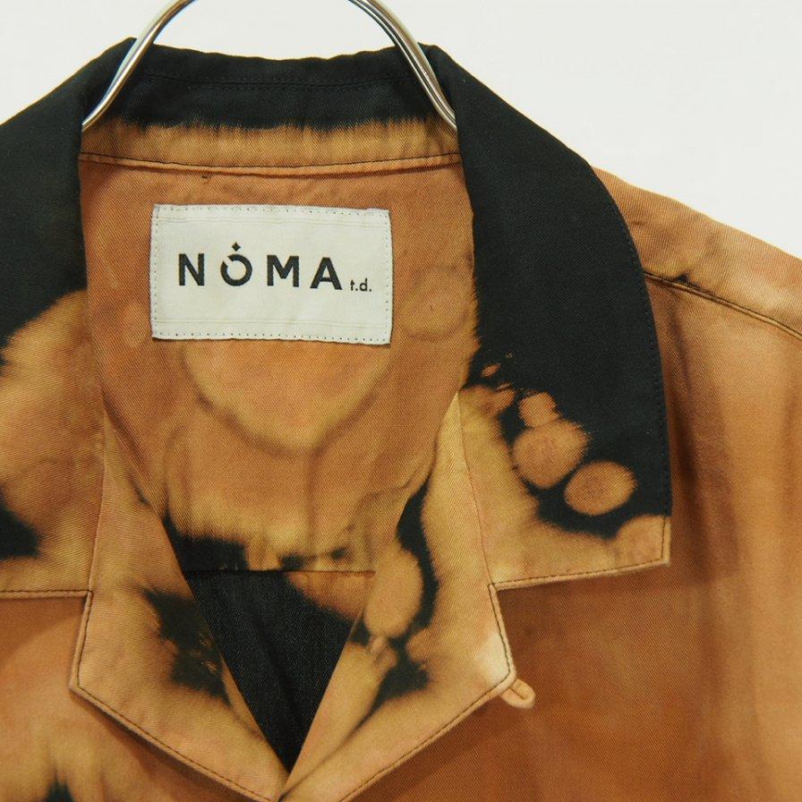 NOMA t.d. - Bleach S/S Shirt - Black