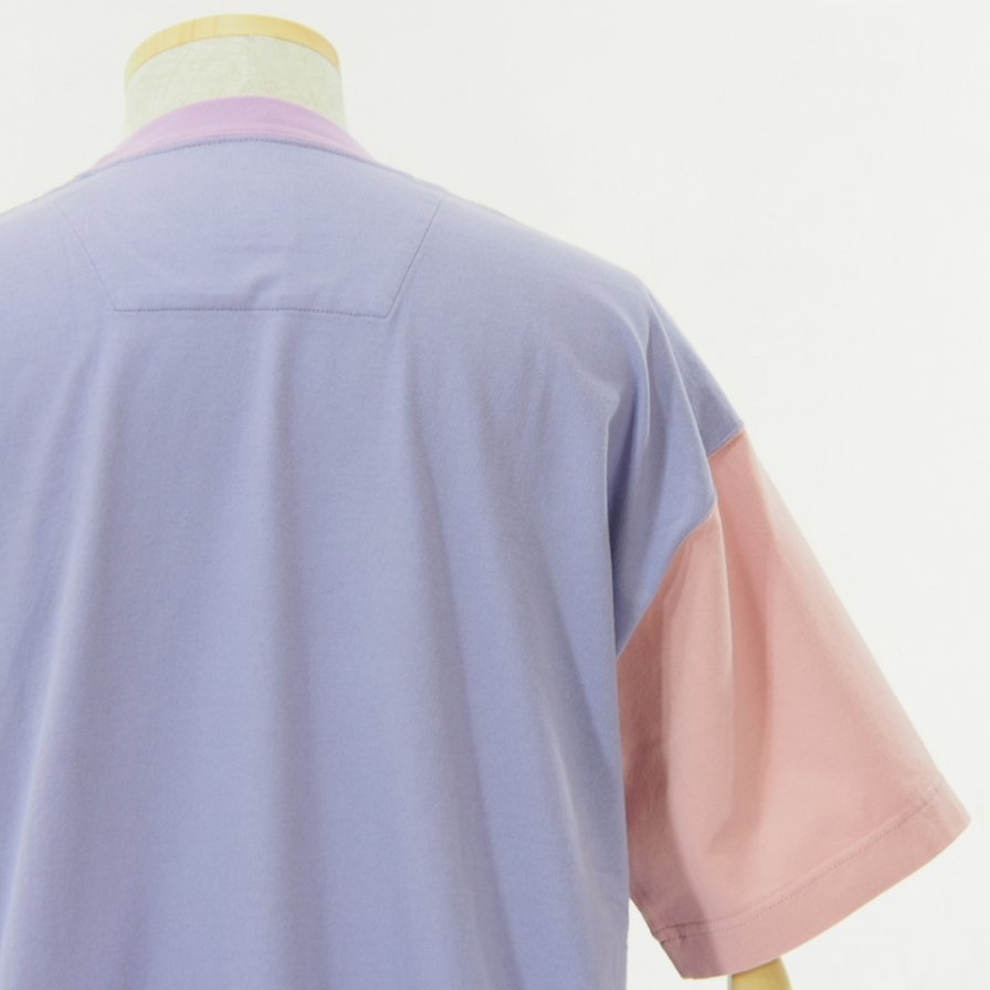 ts(s) - Color Panel Oversized Tshirt - Lavender