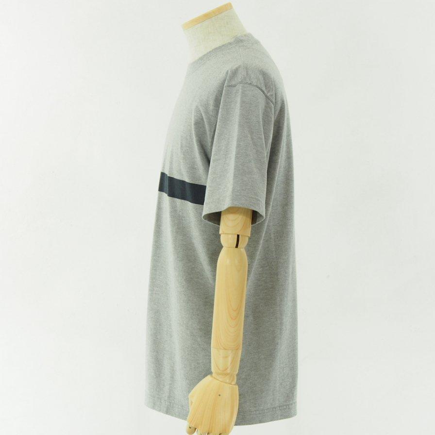 ts(s) - Line Print Tshirt - Grey