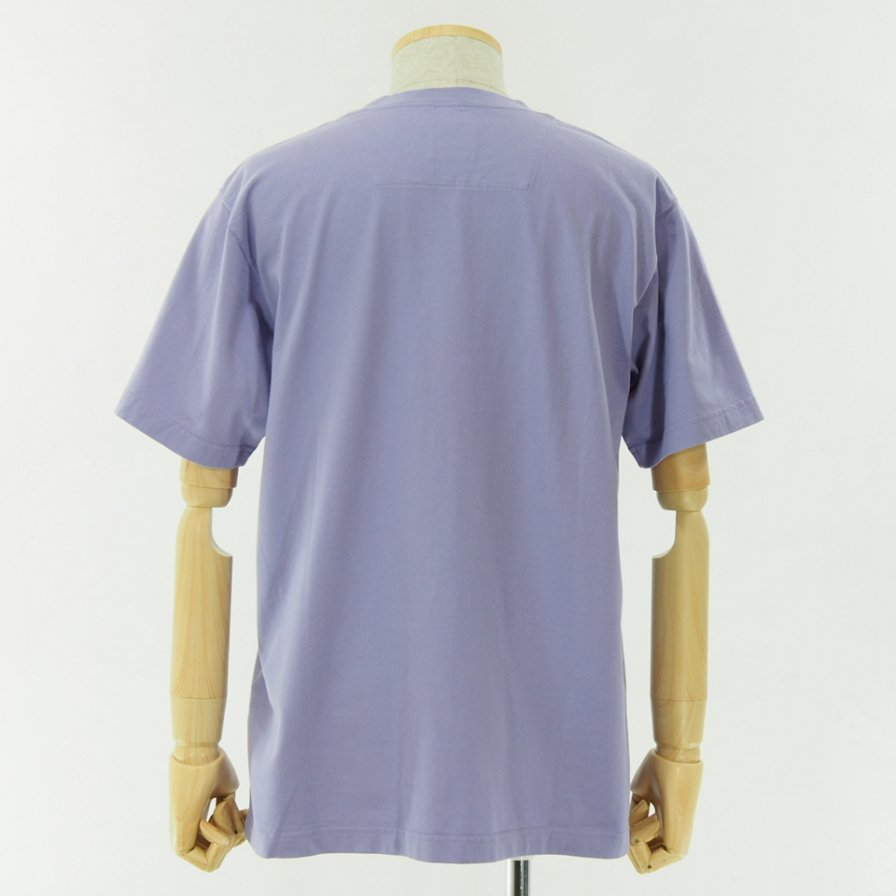 ts(s) ティーエスエス - Line Print Tshirt - Lavender