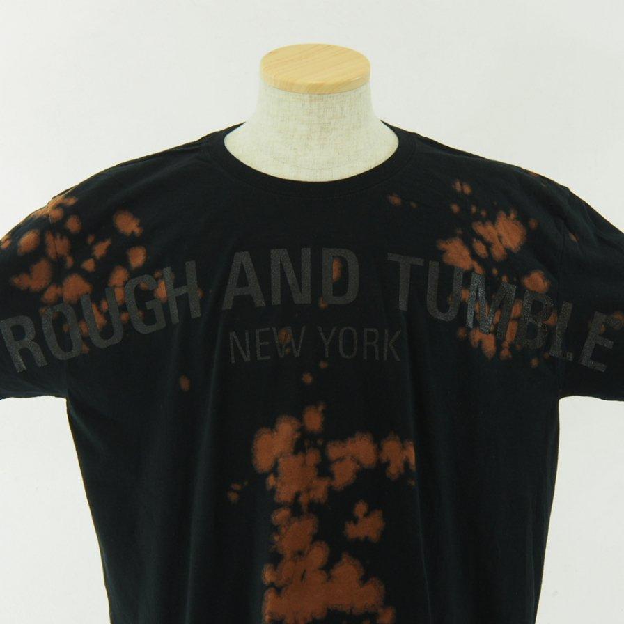 RANDT - Logo S/S Tie Dye T-Shirt - Black / Brown