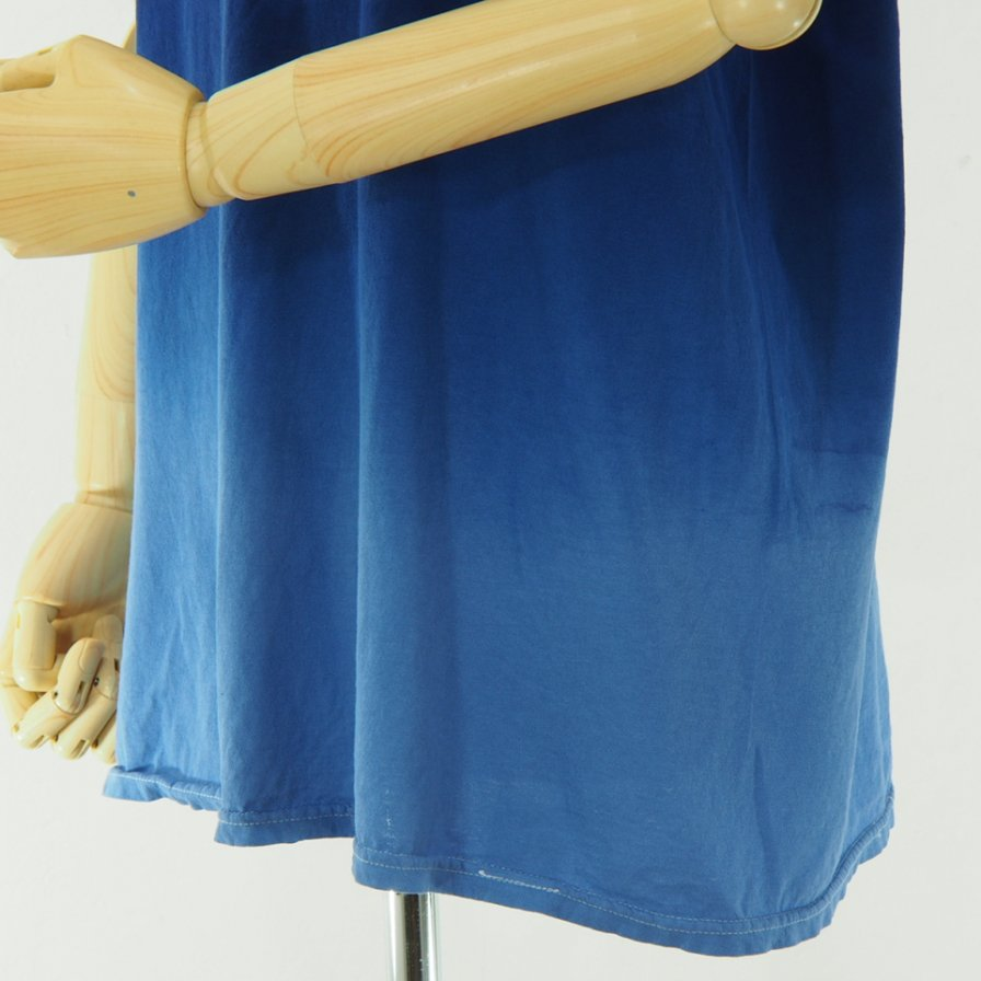 RANDT アールアンドティ - Logo S/S Tie Dye T-Shirt - Purple