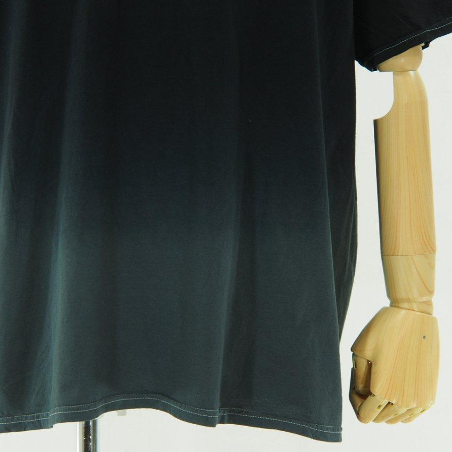 RANDT アールアンドティ - Logo S/S Tie Dye T-Shirt - Black