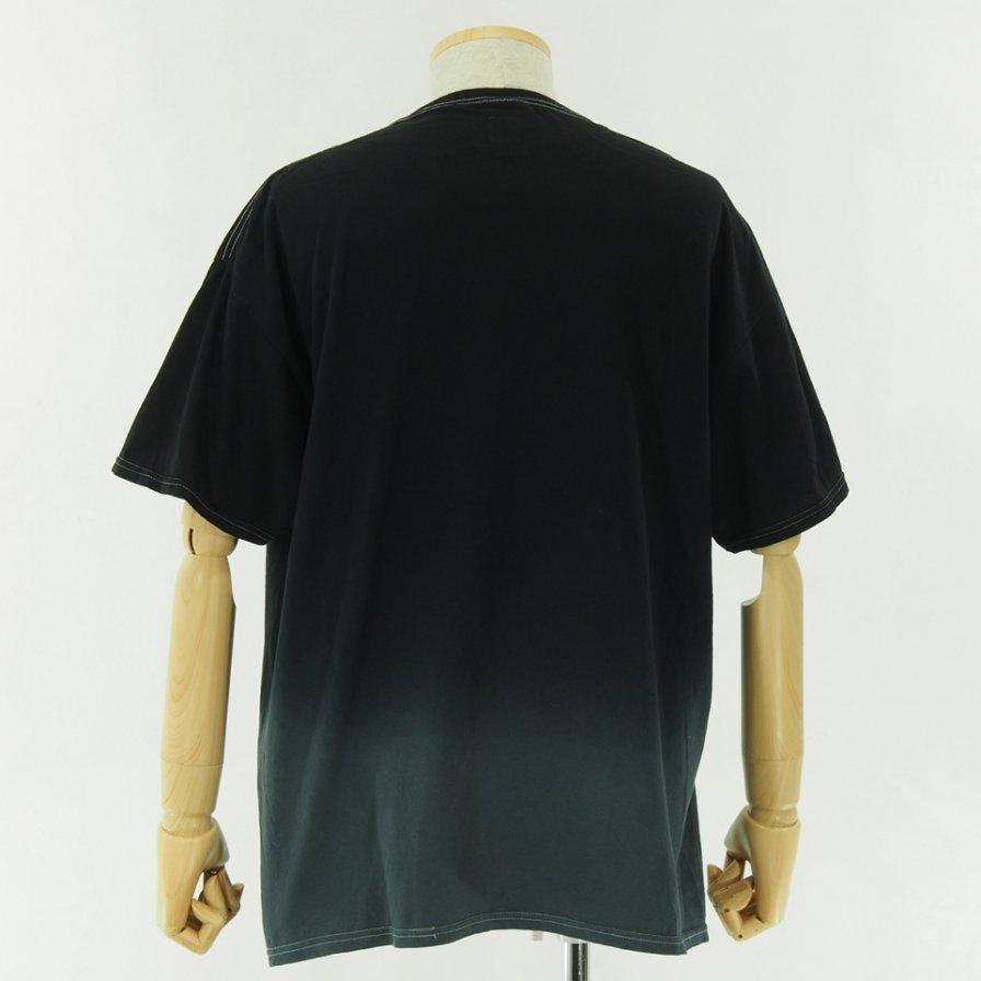 RANDT - Logo S/S Tie Dye T-Shirt - Black