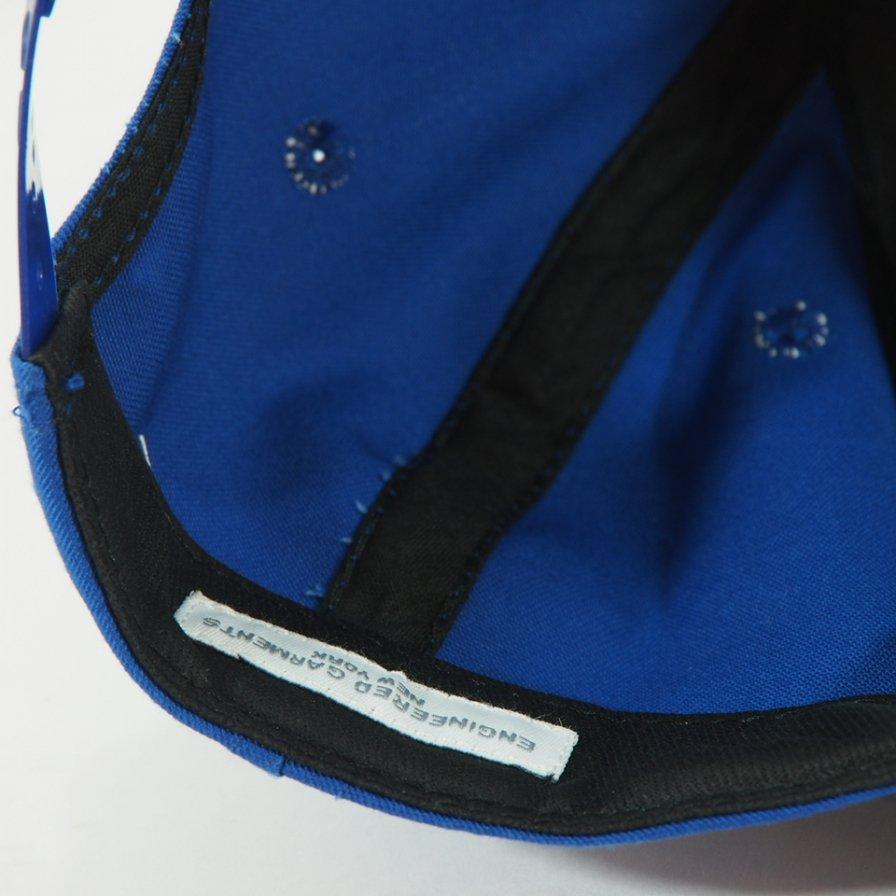 Engineered Garments - Logo Baseball Cap - PC twill - Royal