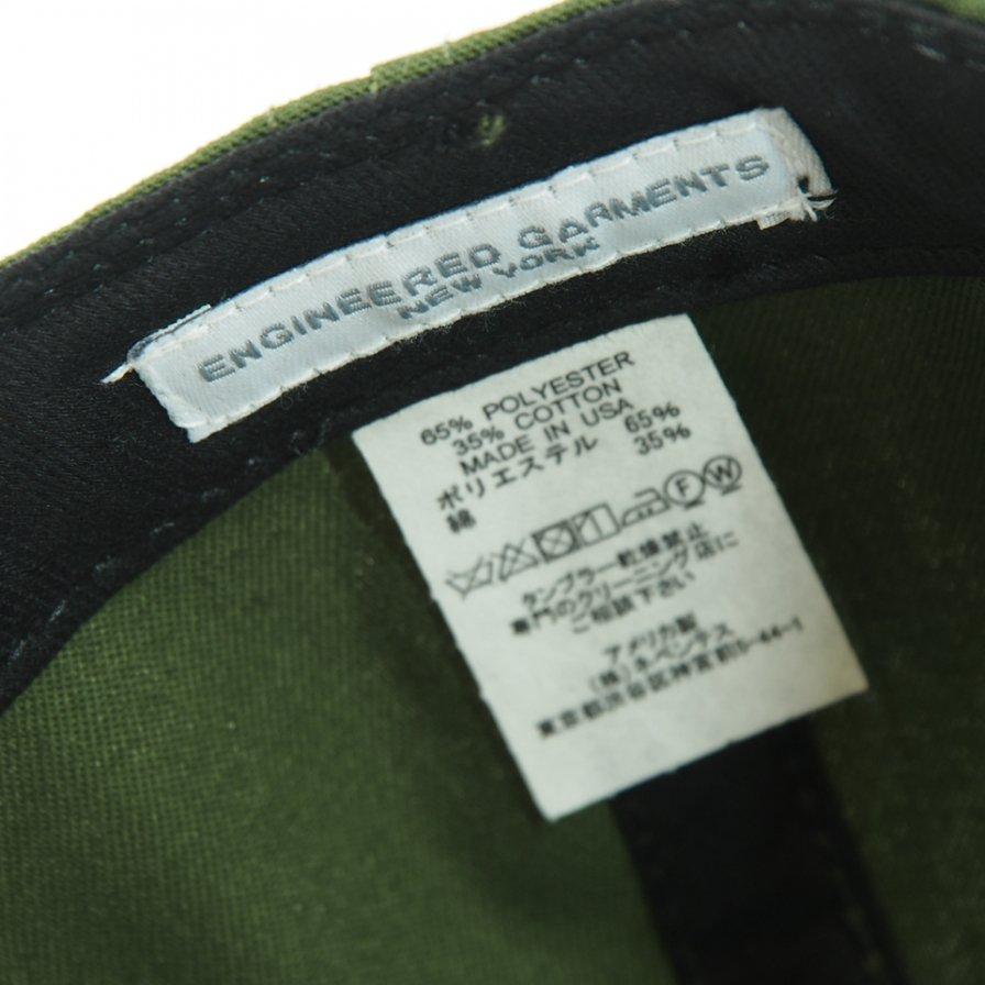 Engineered Garments - Logo Baseball Cap - PC twill - Olive