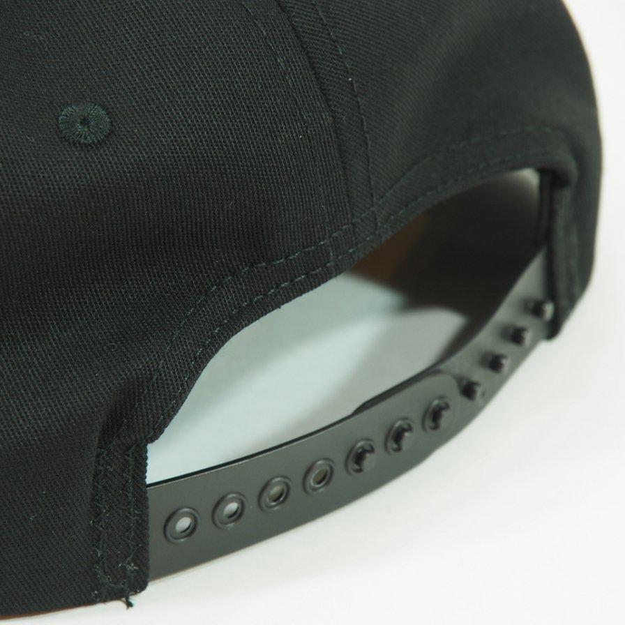 Engineered Garments - Logo Baseball Cap - PC twill - Black
