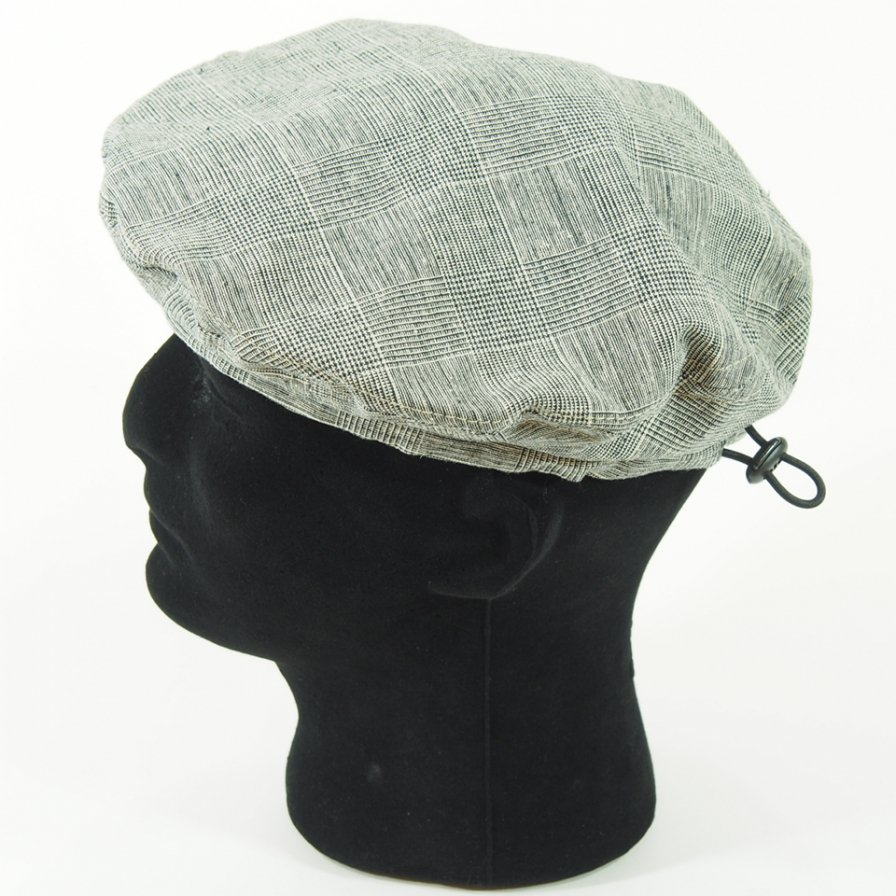 Engineered Garments - Beret - CL Glen Plaid - Grey