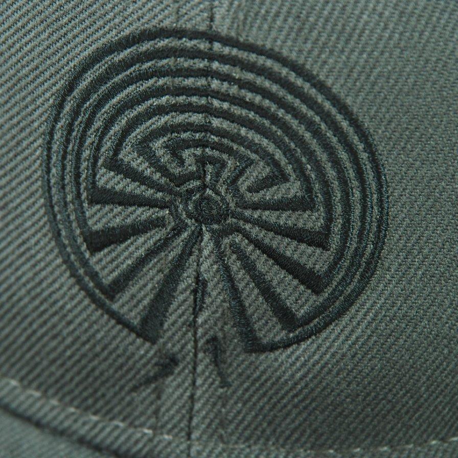 South2 West8 - Baseball Cap - Maze Emb. - Charcoal
