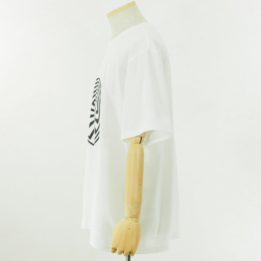 South2 West8 - S/S Crew Neck Tee - Pe/C Jersey - MAZE - White
